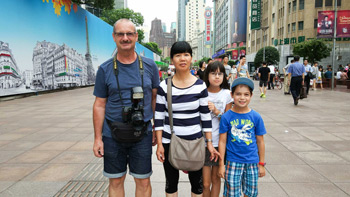 Familienurlaub 2017 in China
